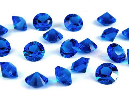 Pk 100 Swarovski Unfoiled Table Crystals, Style 1088, SS24 (5.5mm), Capri Blue